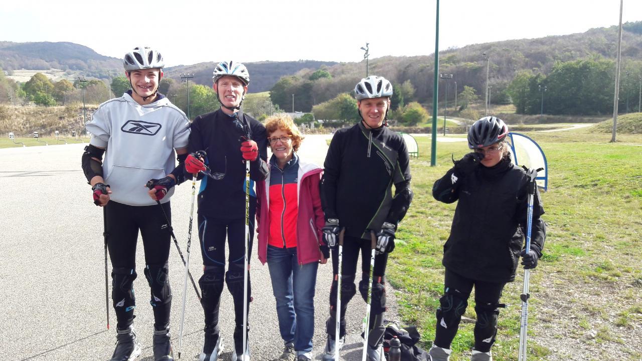 Ski roue Plans d' Hotonnes 08/10/16