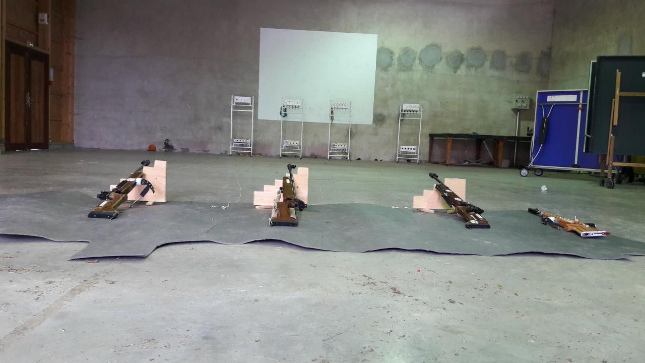 Stage Tir carabine Cormaranche mai 2017