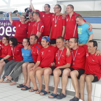 Championnat Régional natation Oyonnax 2016