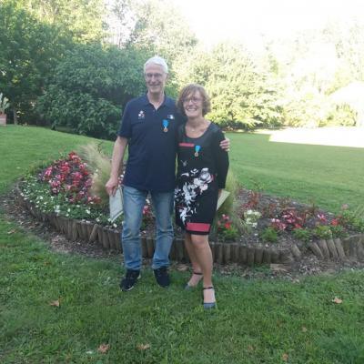 Juin 2019 Martine et Francy