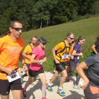 GI J'y Monte, Cormaranche en bugey Trail de 15km 23 sept 2017