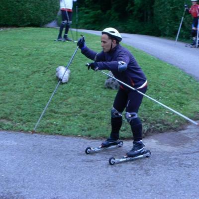 Ski roues St étienne du Bois : Yohann