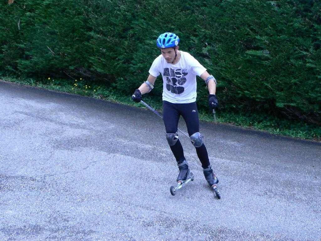 Ski roues St étienne du Bois :  Didier