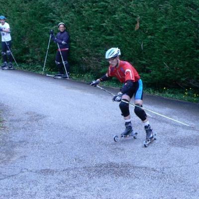 Ski roues St étienne du Bois : Alain L.