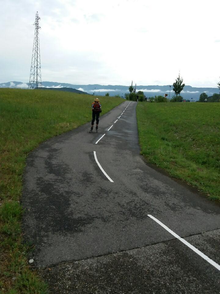 05 Juin Via rhôna de Belley à Chanaz (28km)