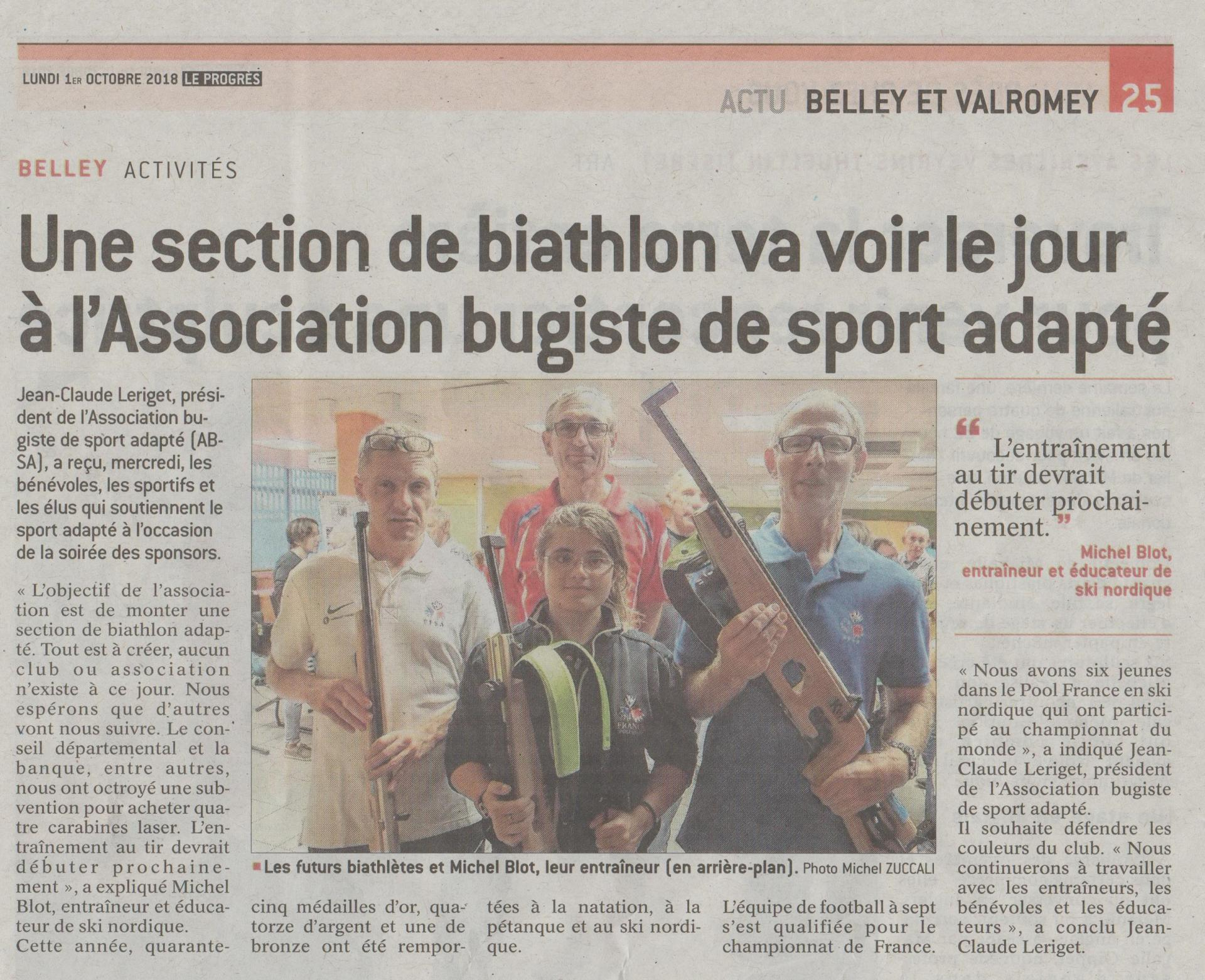 Section de Biathlon