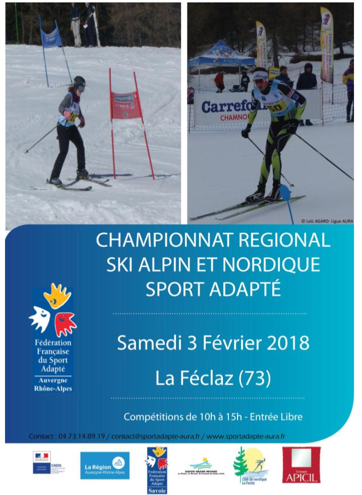 Régional de ski 2018