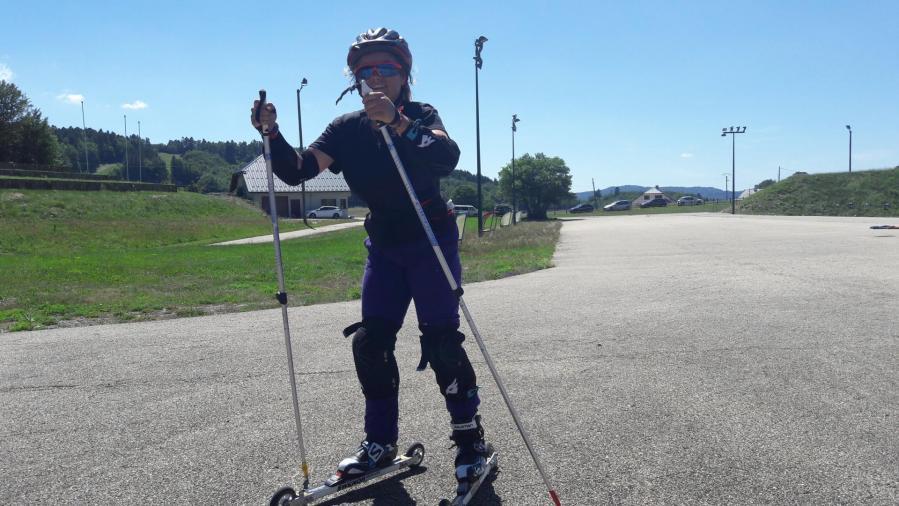 Ski roue Plans d'Hotonnes