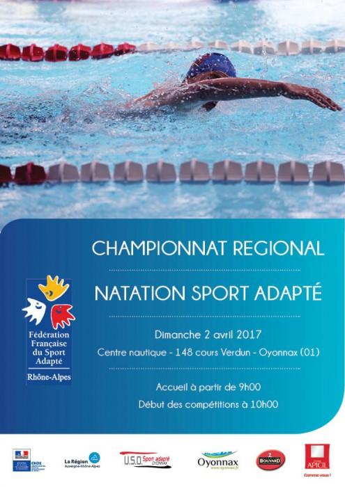 Cr natation 2017 affiche
