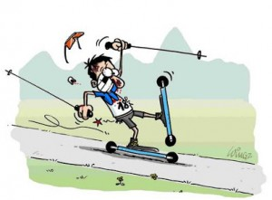 Ski roue wingz 300x221